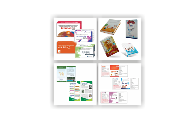 Pharma Visual Aids Printing Services