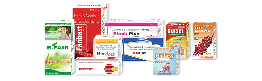 Pharma Medicine Box Designer India